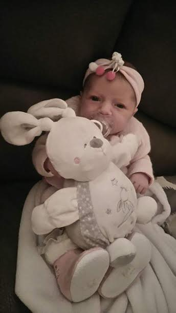 Noëmie, née le 2 novembre