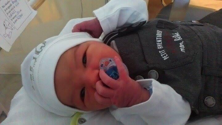 Timéo, né le 5 novembre
