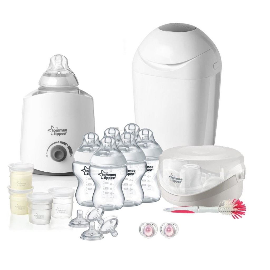 tommee tippee Kit Naissance Complet Blanc-Transparent