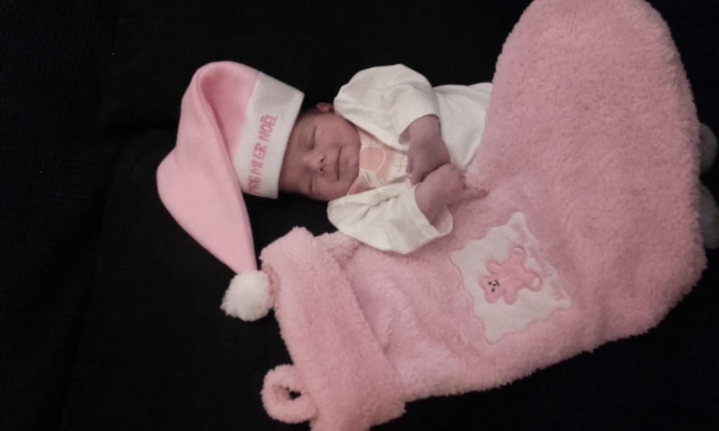 Alizée, née le 9 decembre