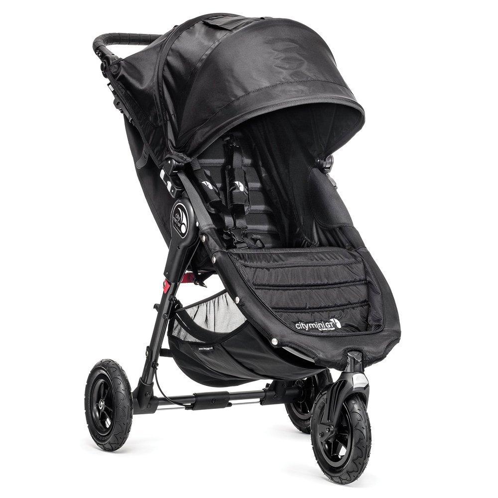 Baby Jogger Poussette 3 Roues City Mini GT Single Noir