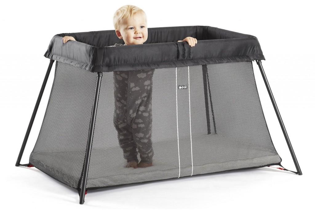 Babybjorn Lit Parapluie Light Noir
