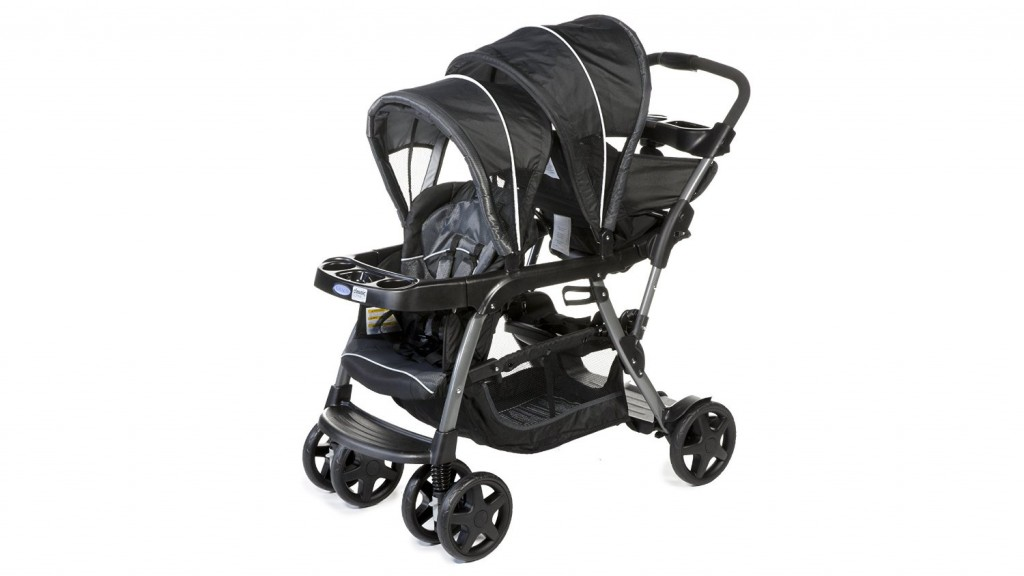 Graco Poussette Double Ready to Grow Metropolitan Noir