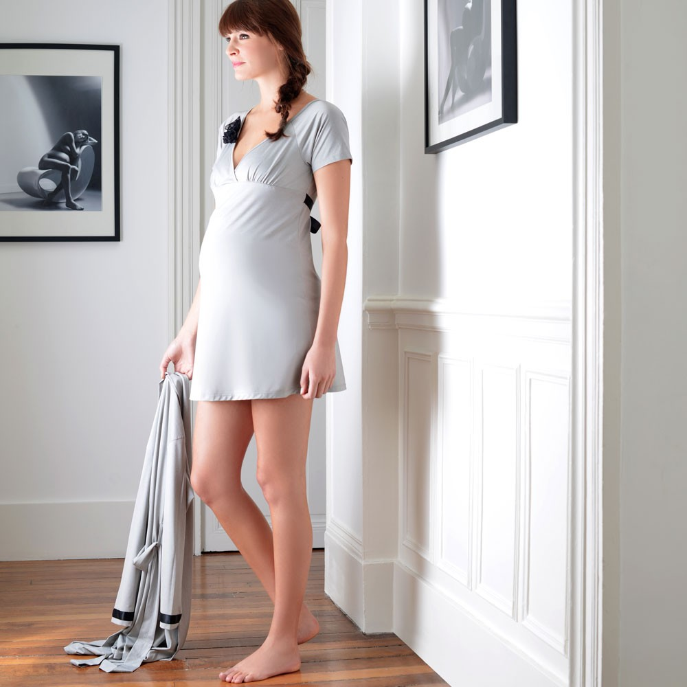 Nuisette femme enceinte Cache coeur Diva