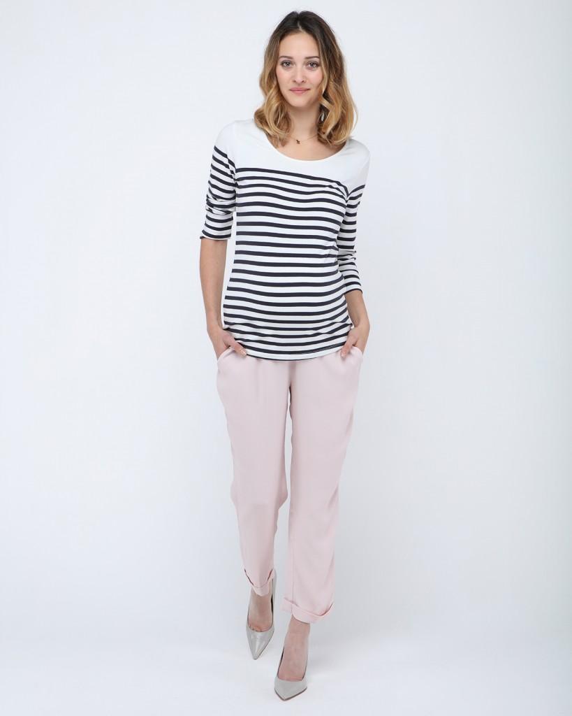 Pantalon rose pale by Pas de Deux - (2)