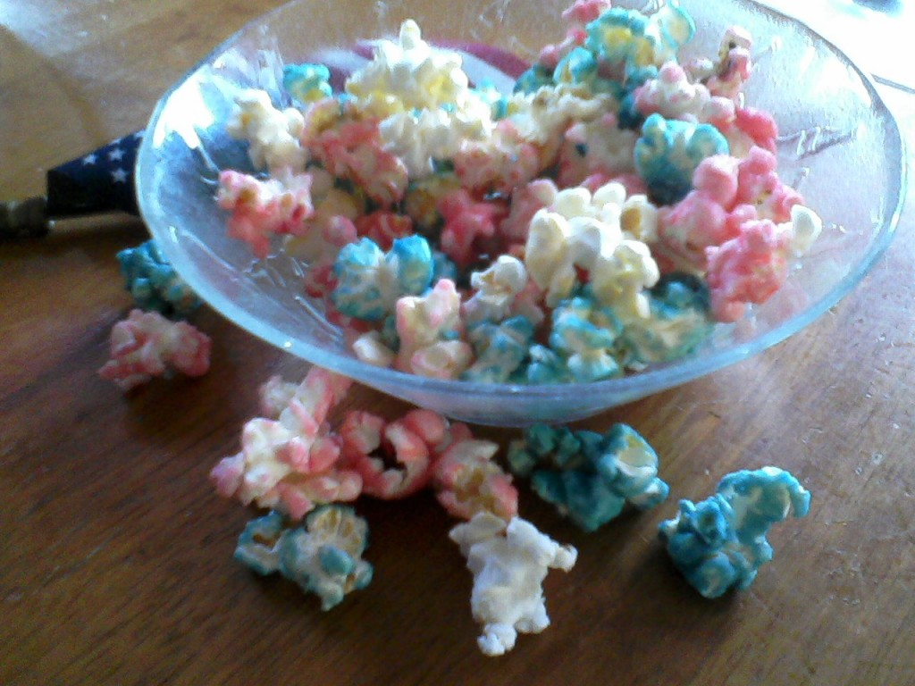 Pop-corn colore