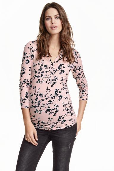 blouse fleurie H&M