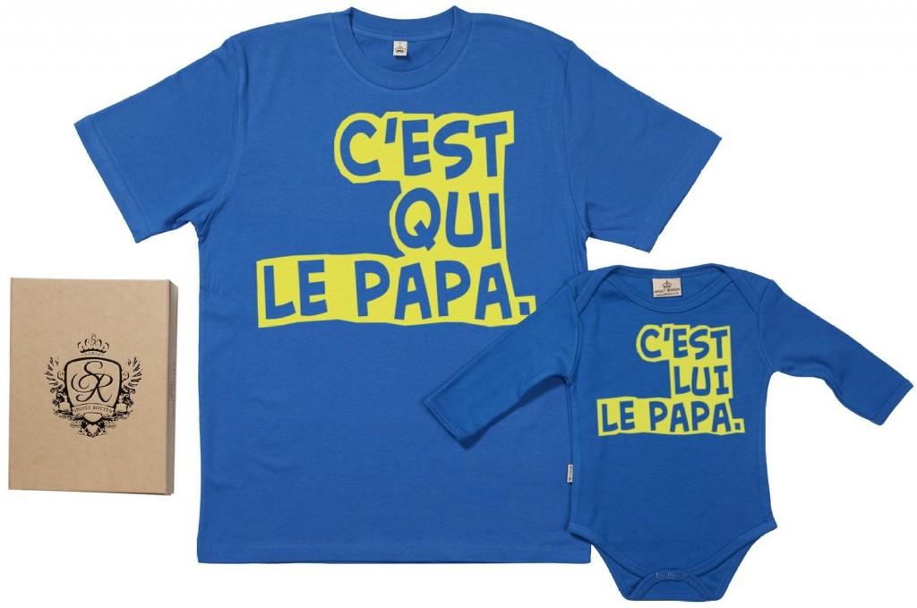 cest qui le papa en vente sur amazon t shirt