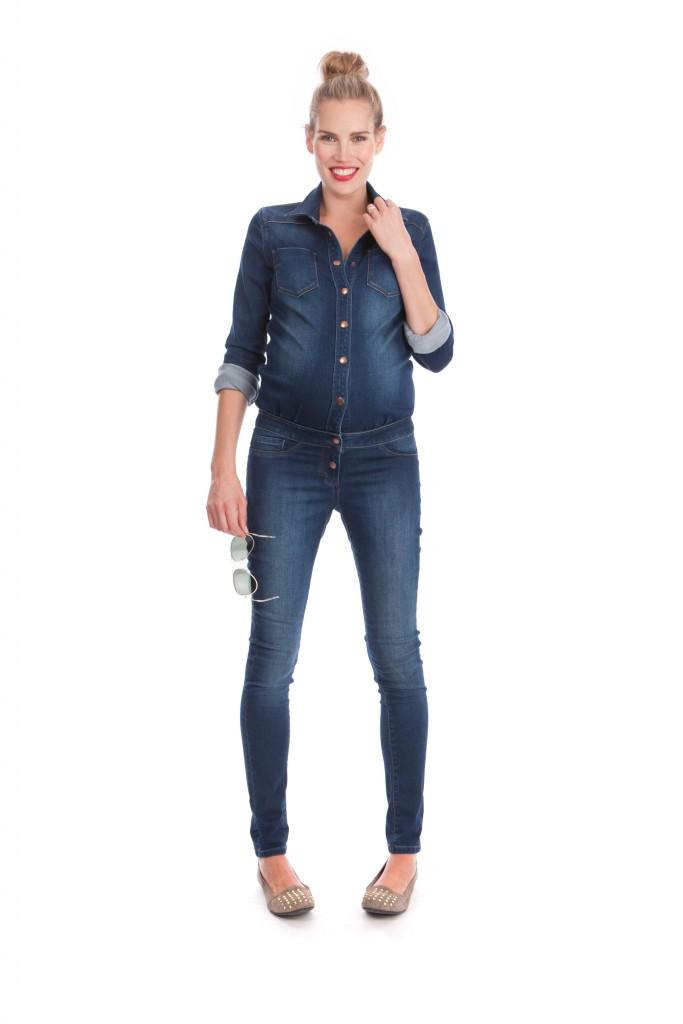 combinaison jean seraphine Quincy 125 euros