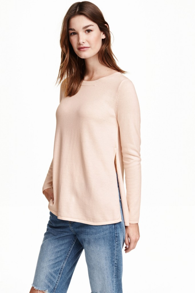 pull rose quartz h&m 24,99 euros
