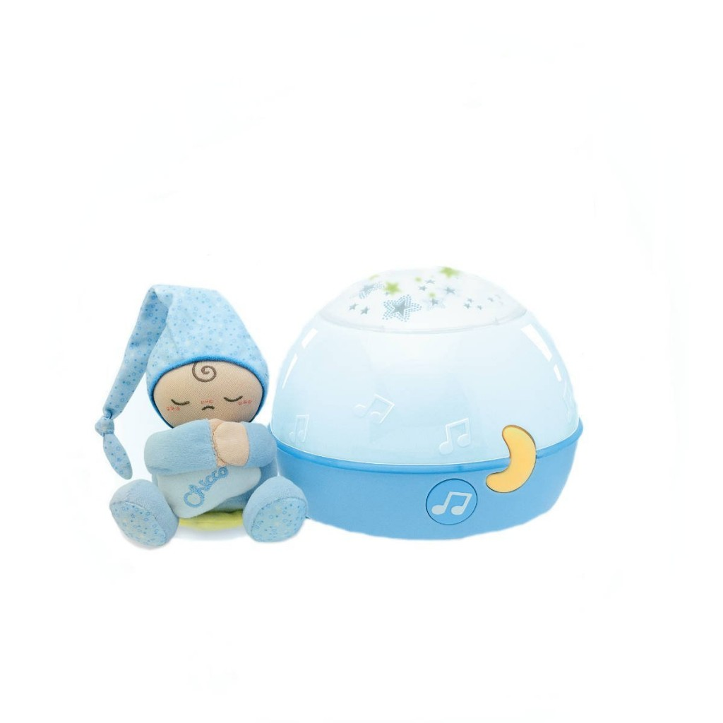 Chicco Veilleuse Ma Lampe Magic Projection First Dreams Bleu