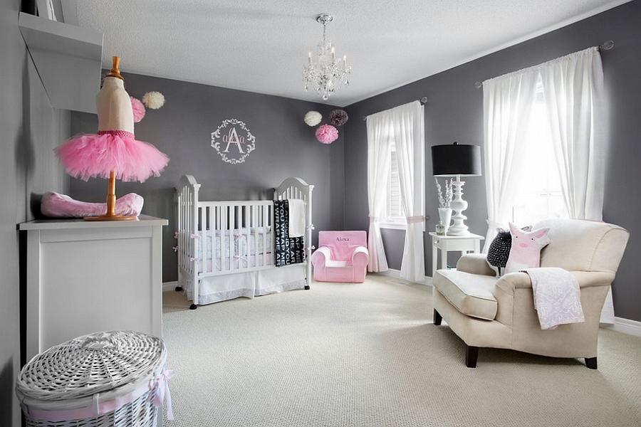 6 idées pour décorer la chambre de bébé avec un gris tout doux ...