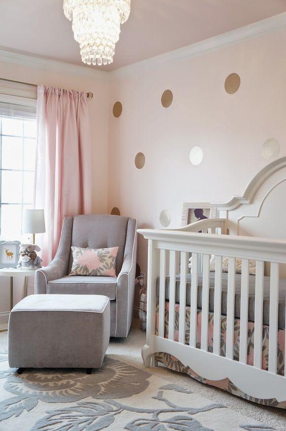 6 id es pour d corer la chambre de b b avec un gris tout doux. Black Bedroom Furniture Sets. Home Design Ideas