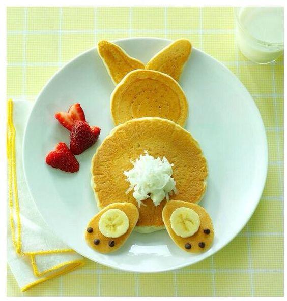 paques en pancake