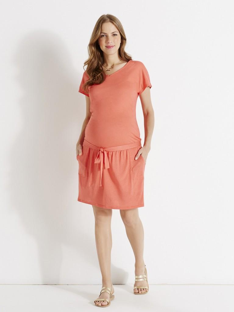 robe corail printemps