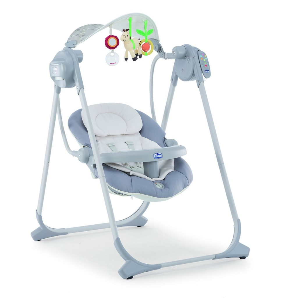 Chicco Polly Swing Up Balancelle Argent