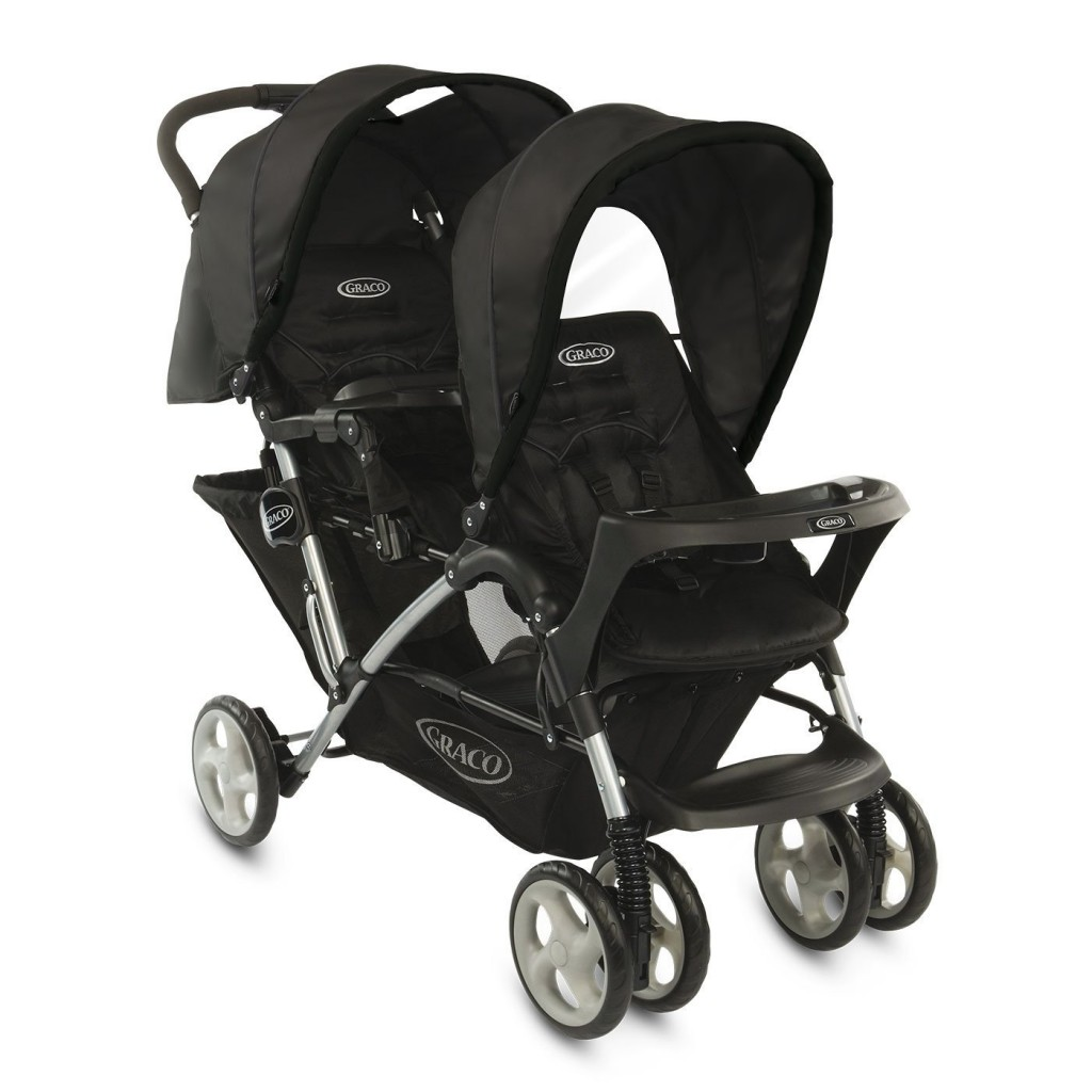 Graco - Poussette Multi-Places - Stadium Duo -Noir