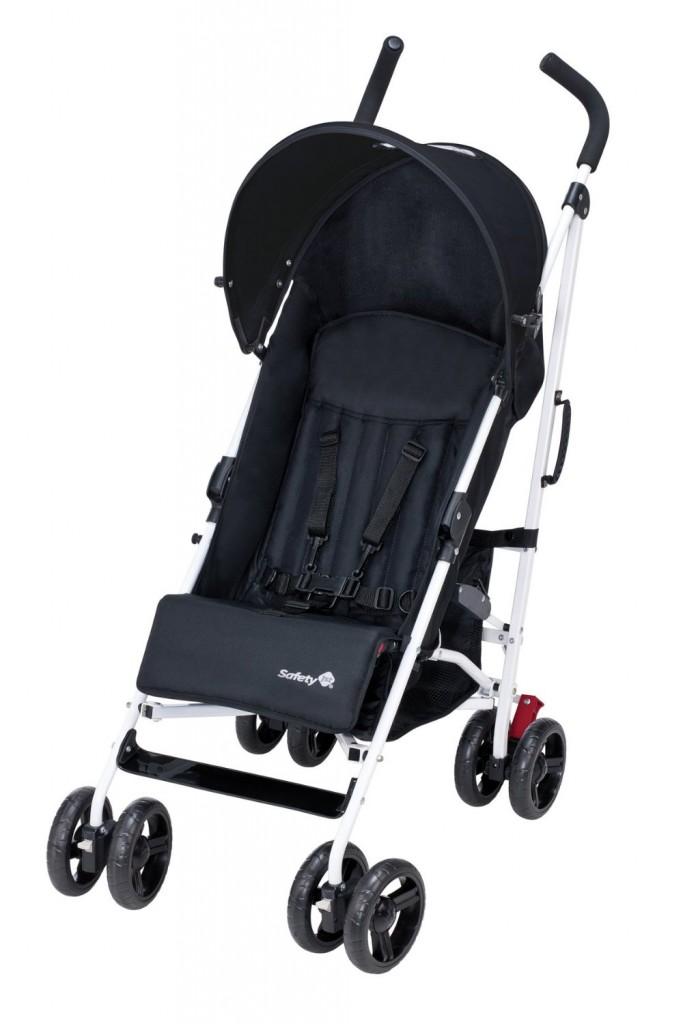 Safety 1st Canne Slim Poussette Noir Blanc