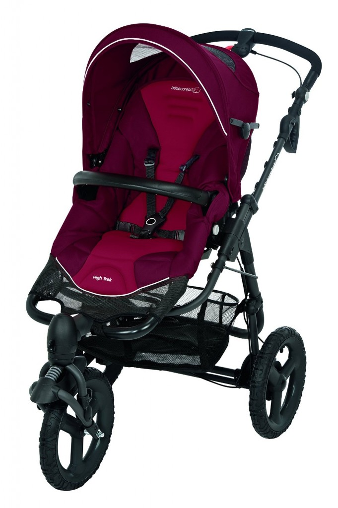 bebe Confort Poussette 3 roues High Trek Robin Red Collection 2016