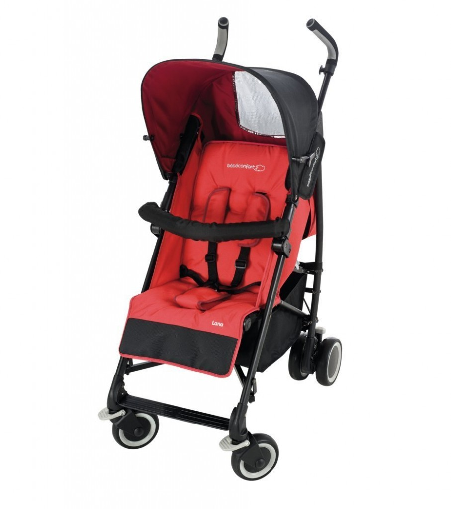 bebe Confort Poussette Lana Collection 2014 Intense Red