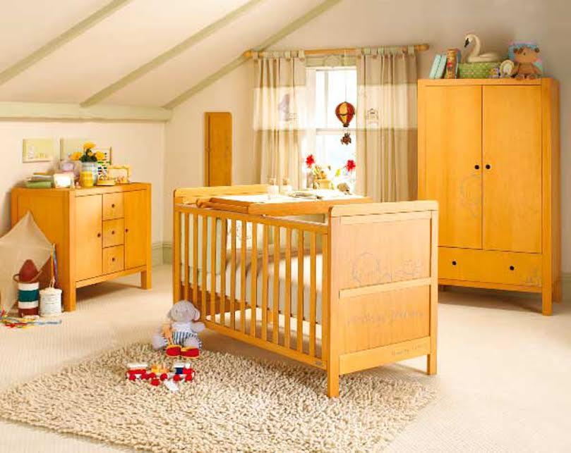 chambre déco boisées-neuf mois-orange