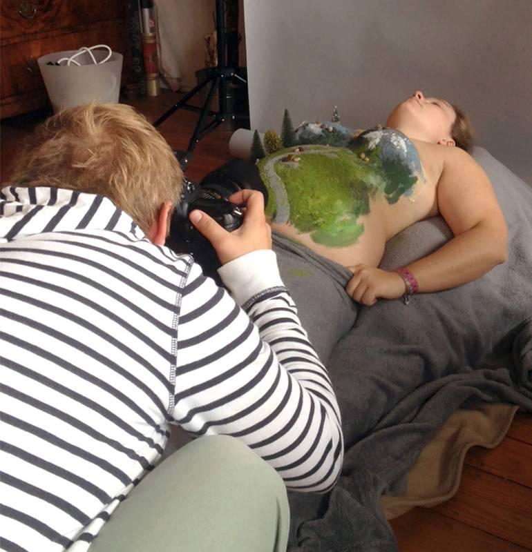 photo annonce de grossesse simon et saskia