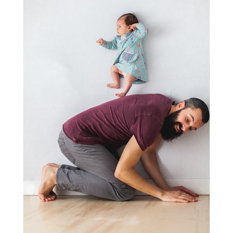 photo de naissance bebe papa ania waluda et michal zawer