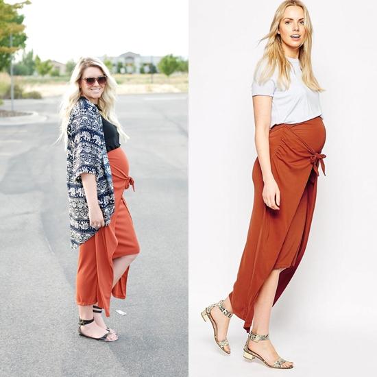 planche jupe longue