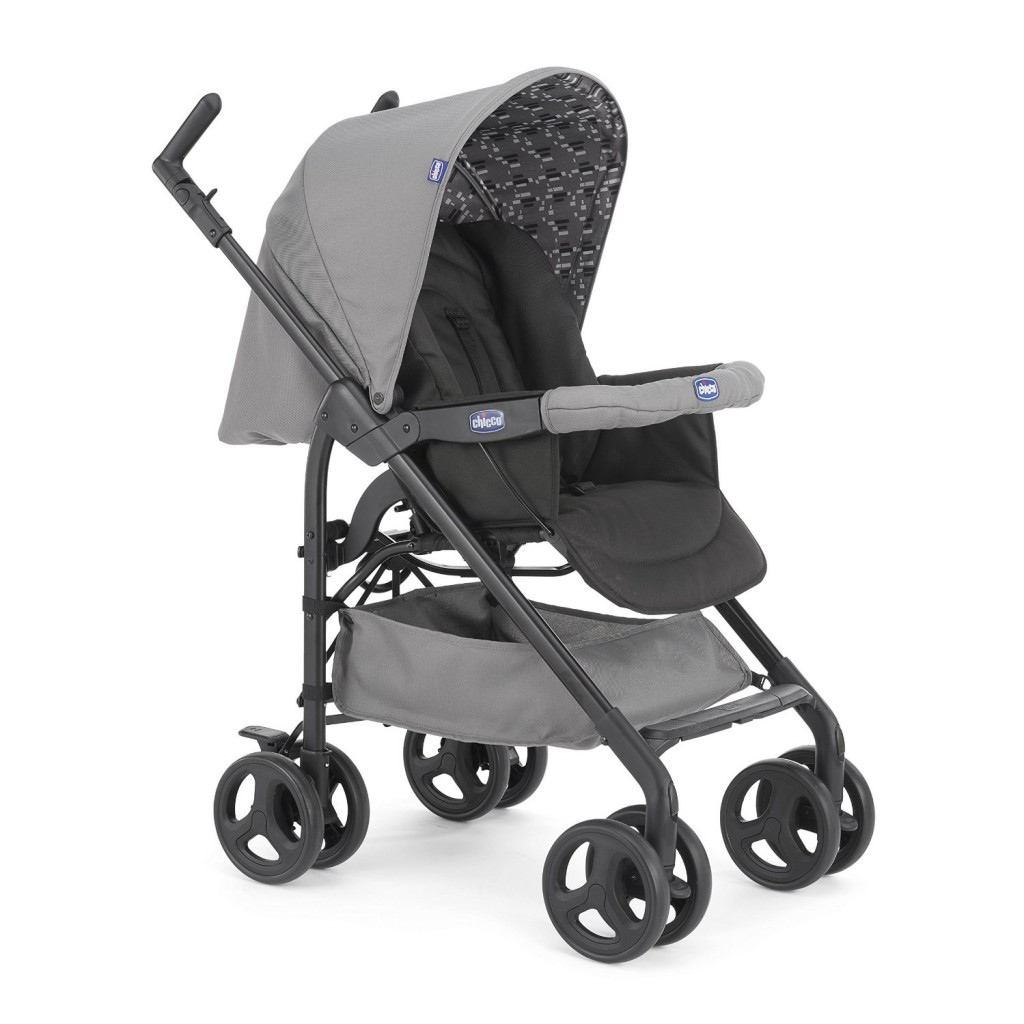 Chicco Trio Sprint Poussette Coal