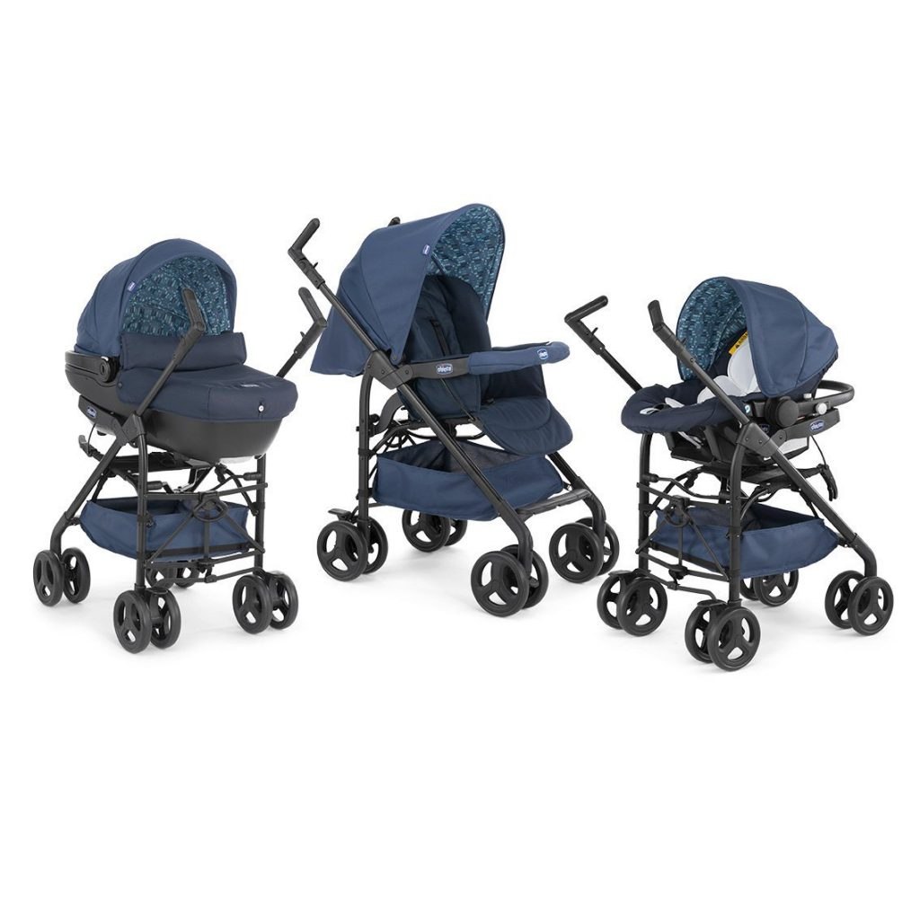 Chicco Trio Sprint Poussette Midnight