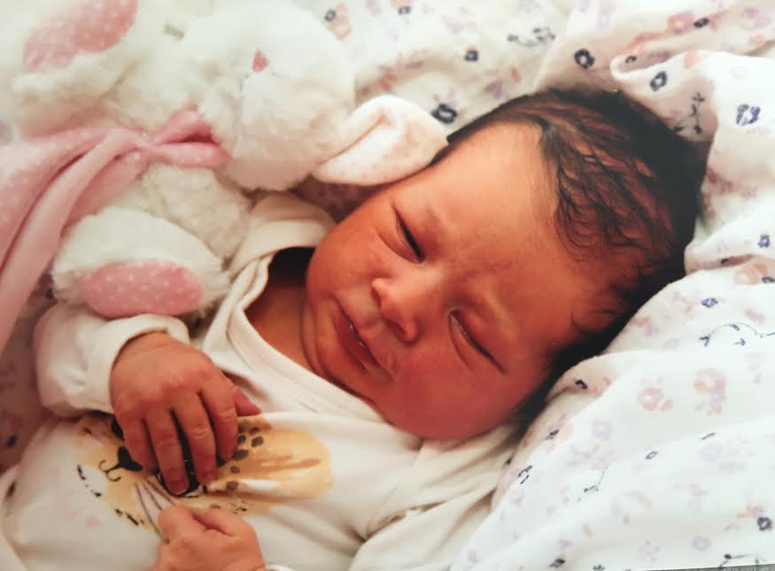 Emilie-Rose, née le 4 avril