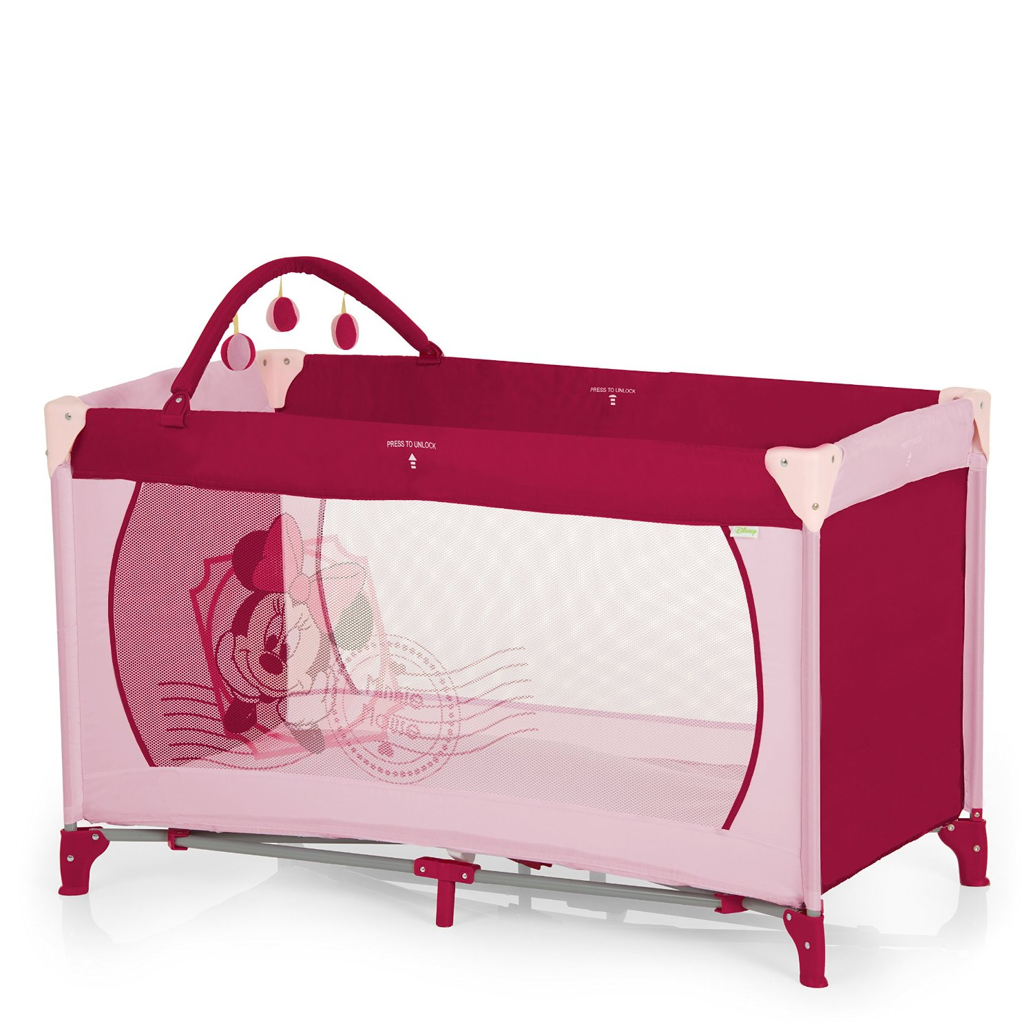 Hauck Lit Pliant Dream N Play, Minnie rose
