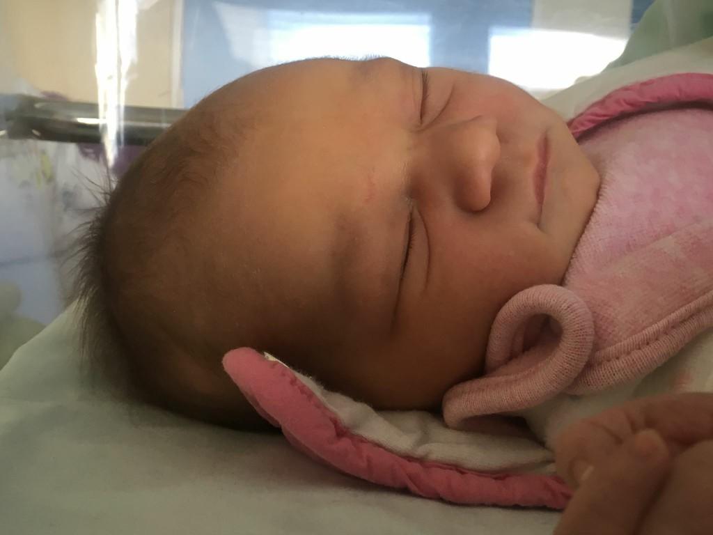 Lucie, née le 15 avril