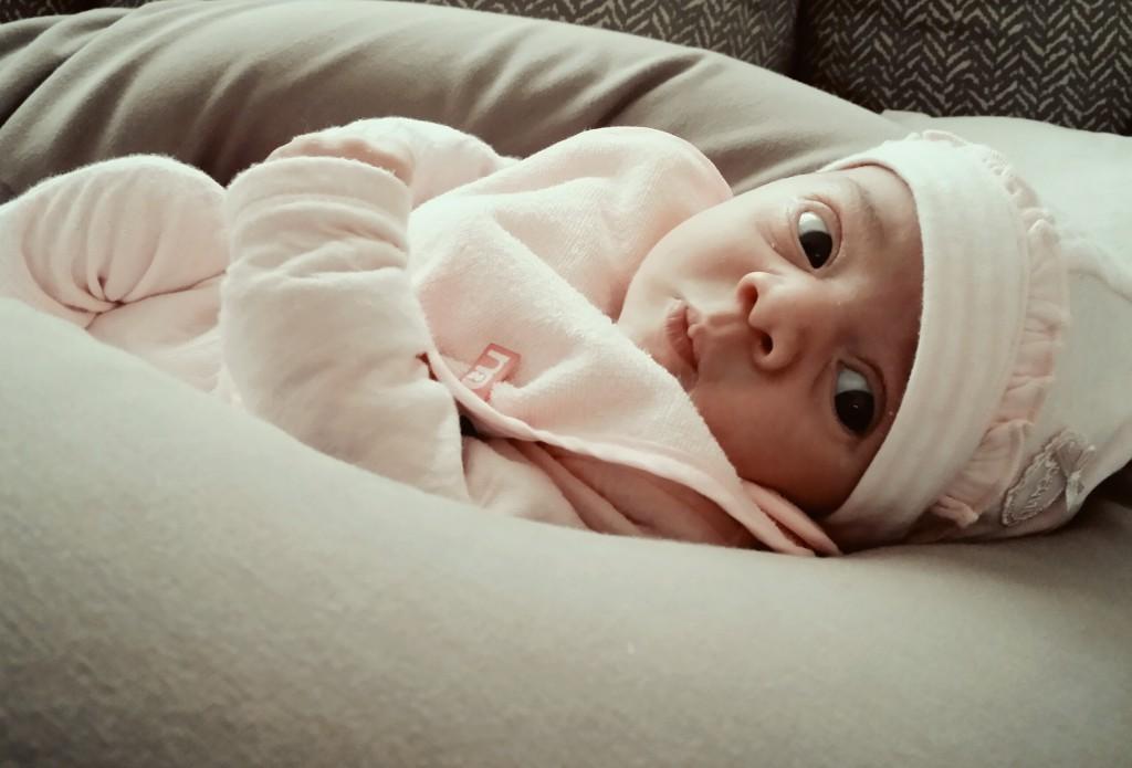 Nawel, née le 18 avril