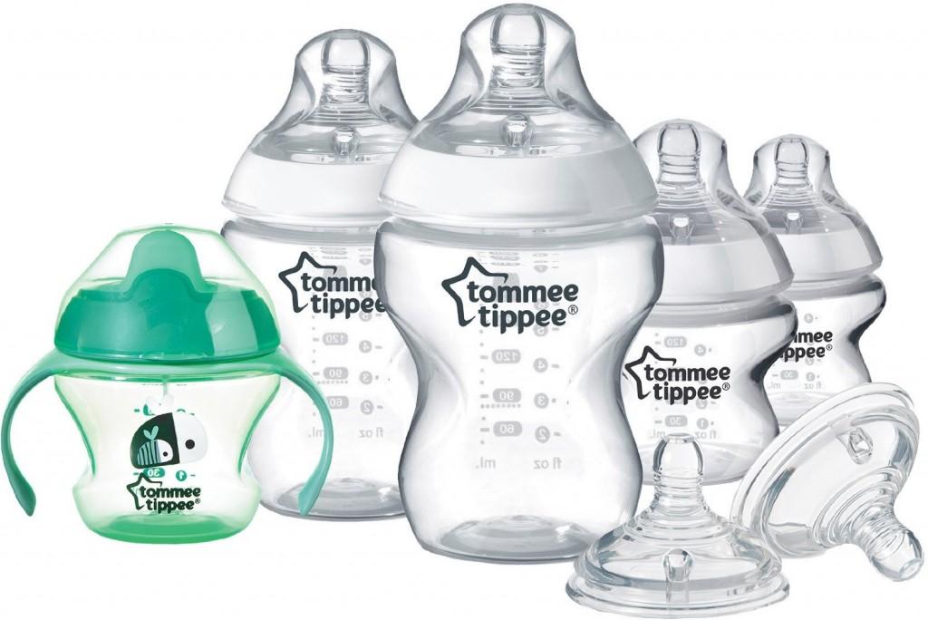 Tommee Tippee Starter Kit Biberon Naissance - Coloris aleatoire
