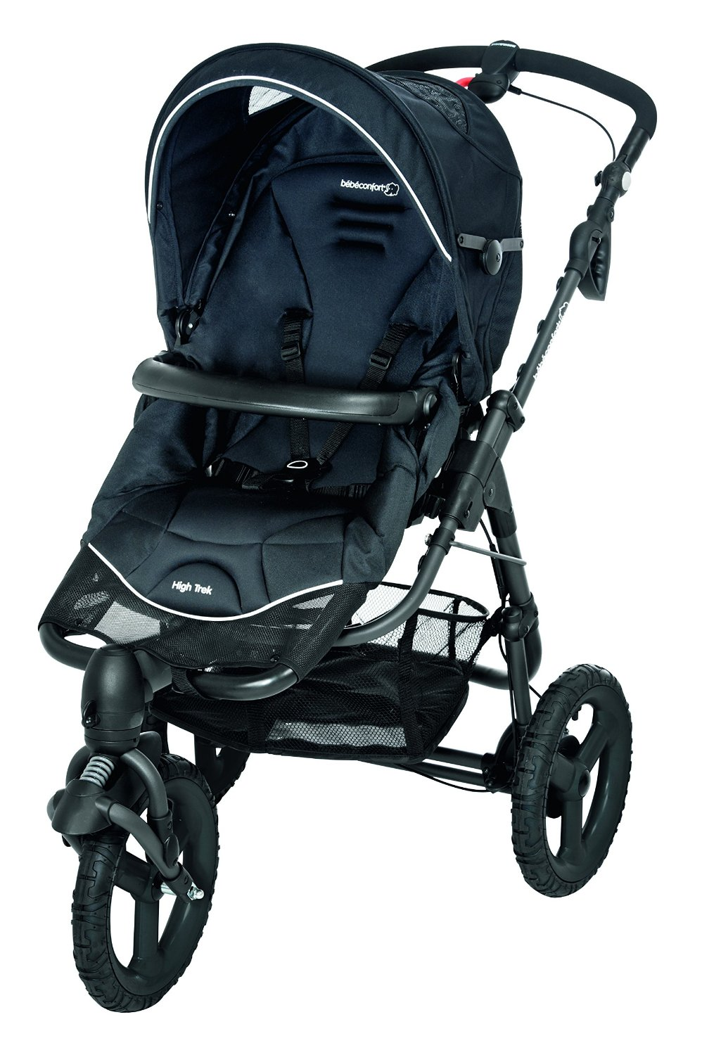 bebe Confort Poussette High Trek Black Raven Collection 2016