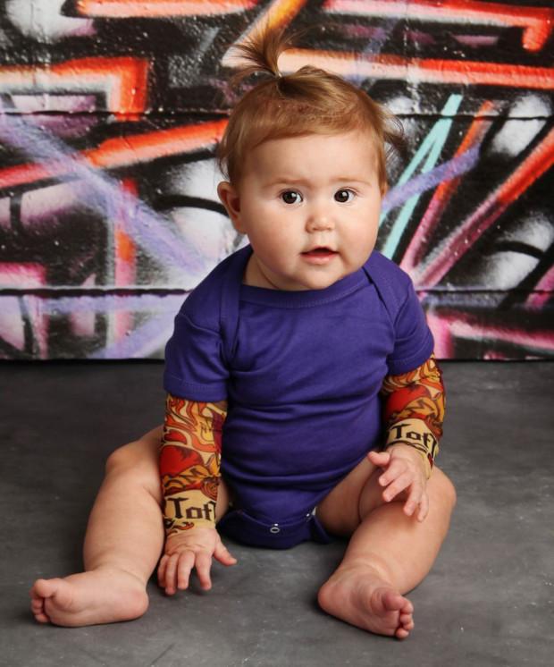 bebe tatoue body