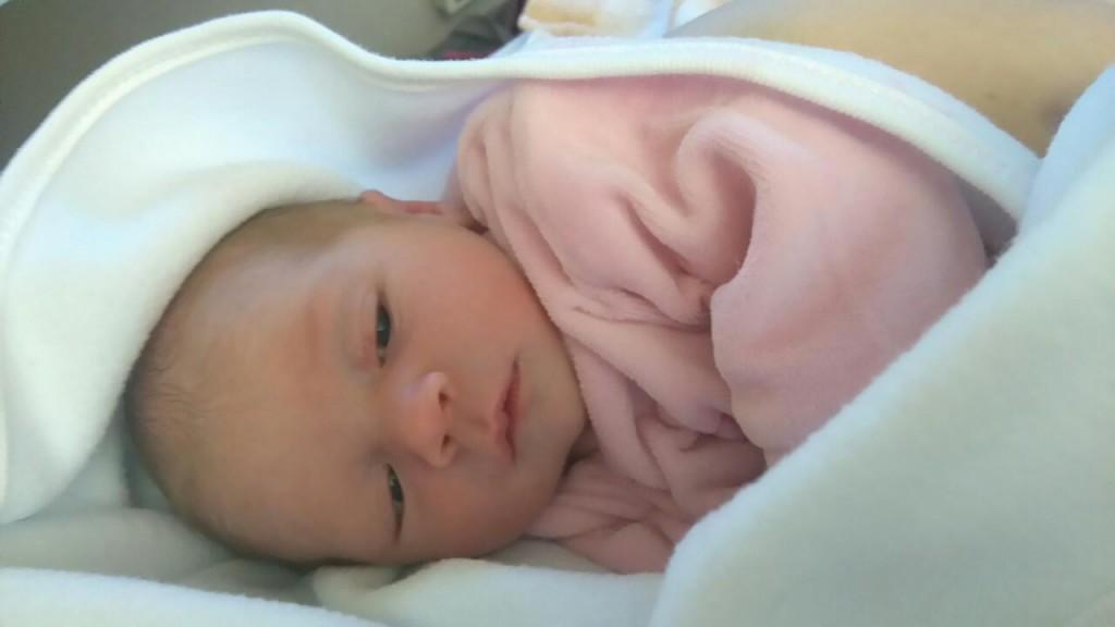 Manon, née le 23 avril