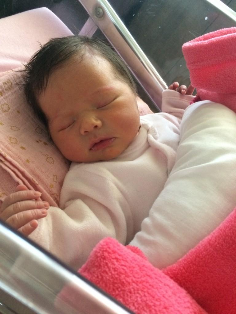 Noëlie, née le 5 avril