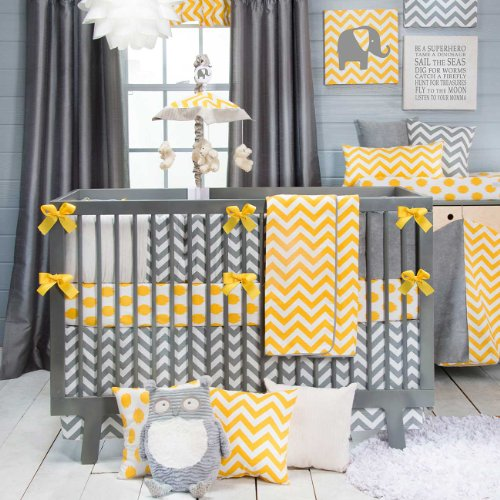 deco chambre bebe jaune et gris. Black Bedroom Furniture Sets. Home Design Ideas