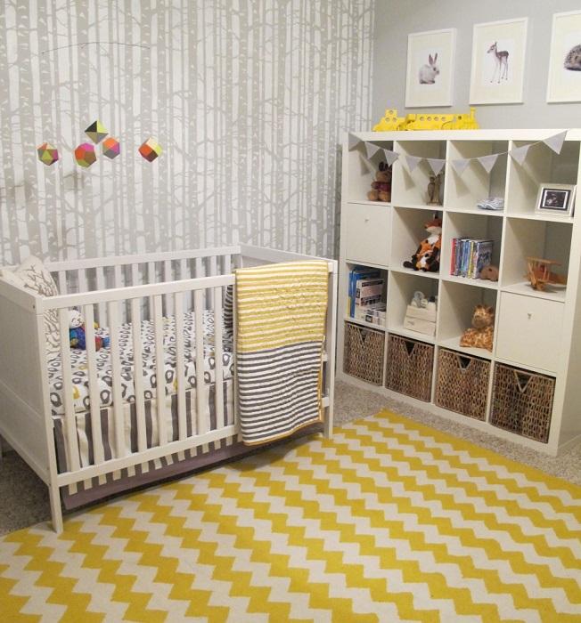 7 inspirations de chambres de b233b233 p233tillantes en jaune et