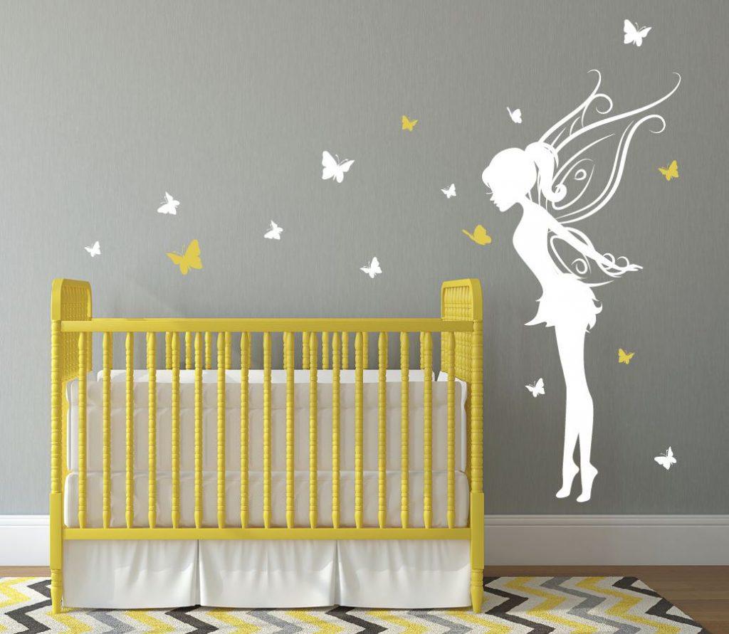 19 inspirations de chambres de bébé pétillantes en jaune et gris
