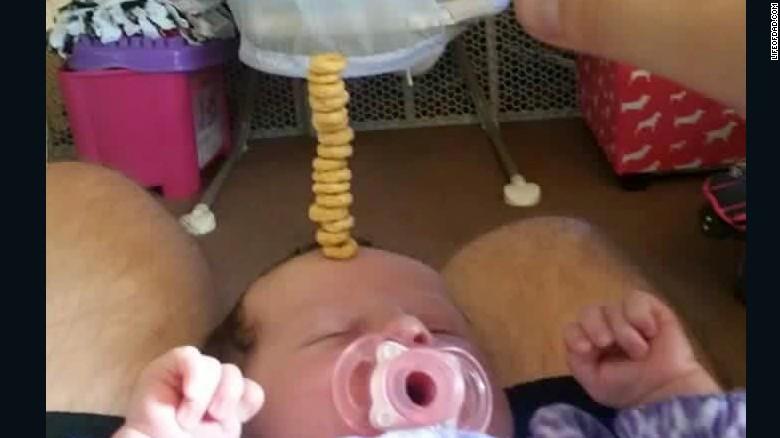 cheerio challenge un defi pour les papas