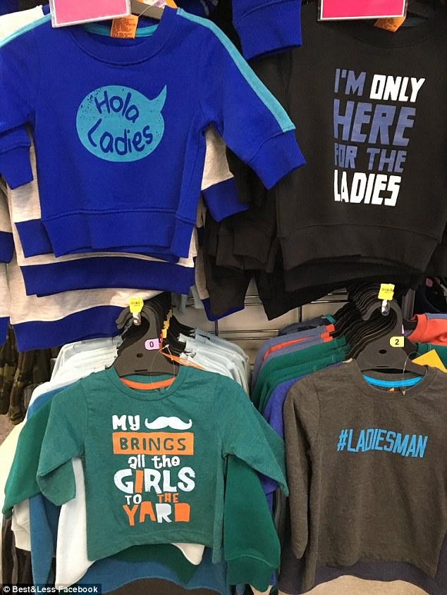 t-shirt sexiste bebe