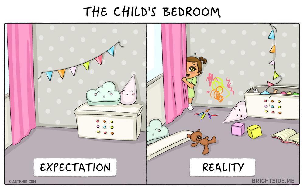 bebe attentes realite chambre