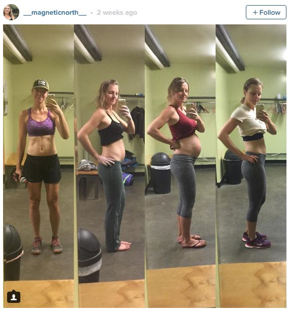 evolution ventre grossesse