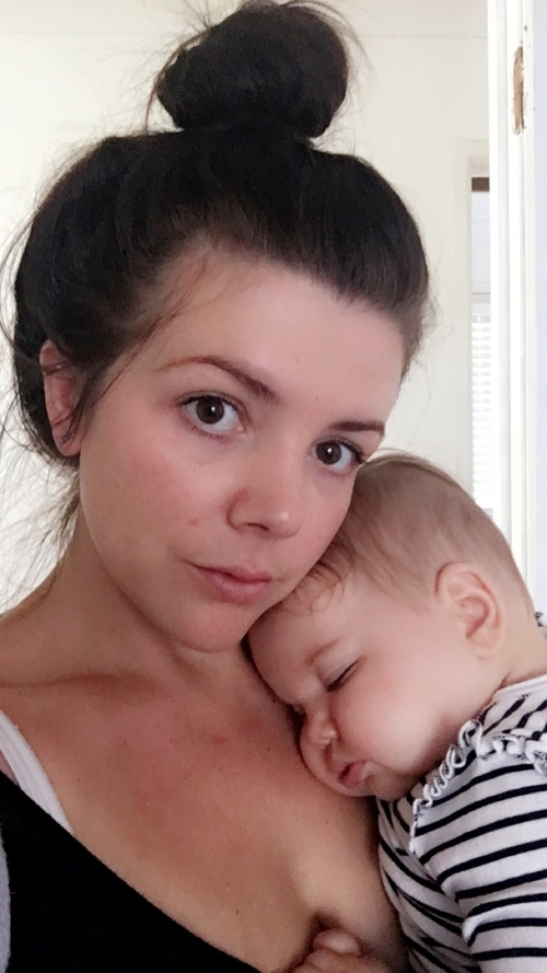 maman bebe photo post partum