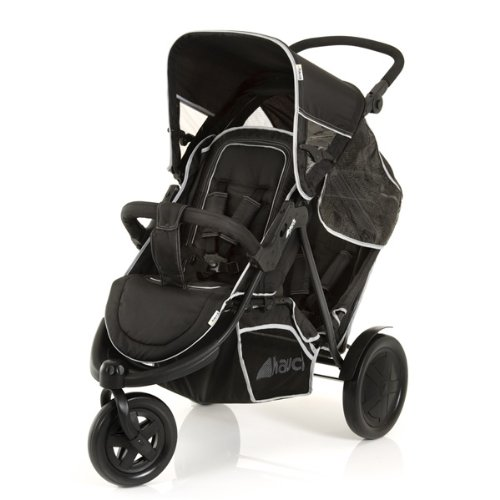 Hauck Poussette Multi-Places Freerider, noir