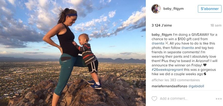 kristy-ardo-ligne-retrouvee-10-jours-apres-accouchement-instagram-sport-pendant-grossesse