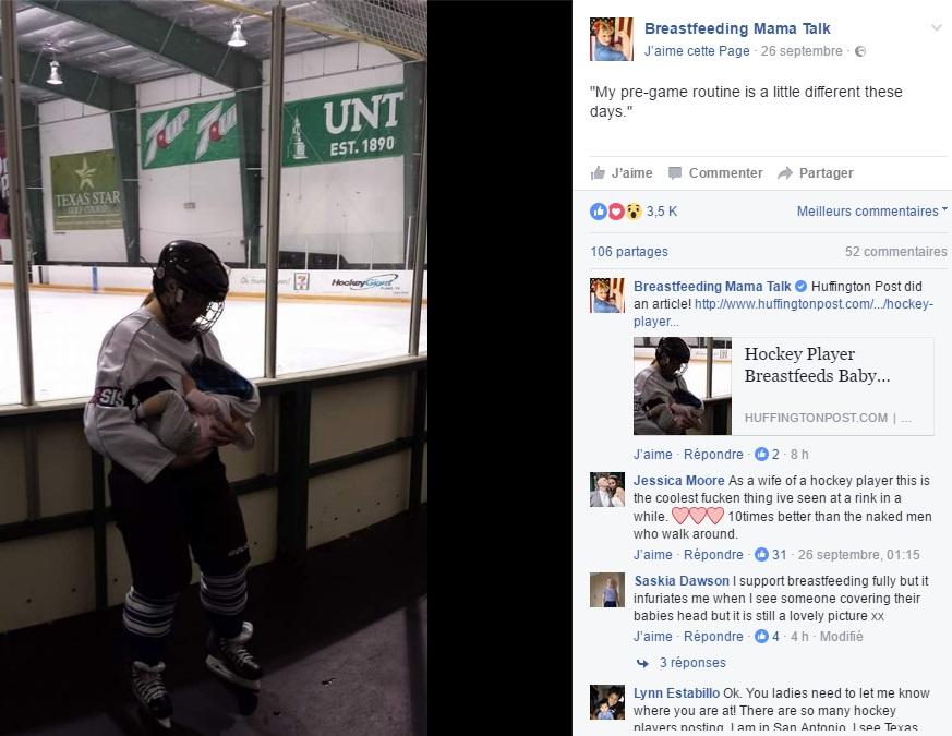 maman-allaite-bebe-apres-entrainement-hockey-photo-facebook